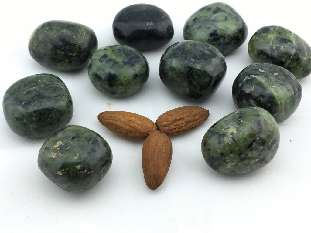 Jade: Nephrite (16 pc/bag)