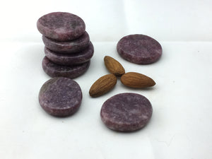 Lepidolite: Coins (22 pc/bag)