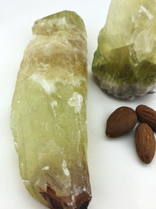 Calcite: Green Raw