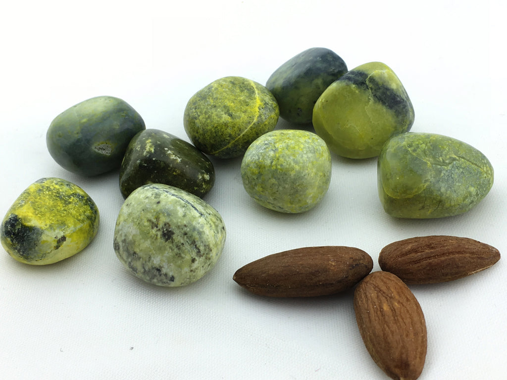 Serpentine: Opalized Tumbled (22pc/bag)