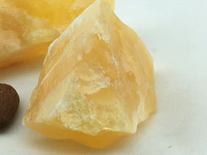 Calcite: Orange: Raw