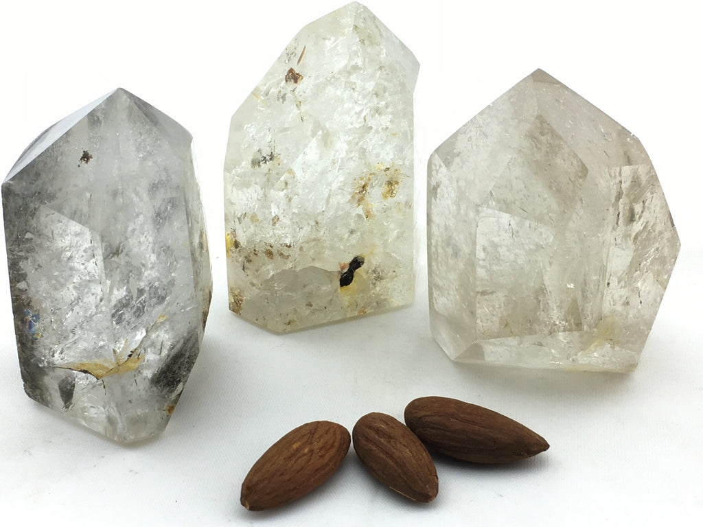 Quartz:  Points with Inclusions