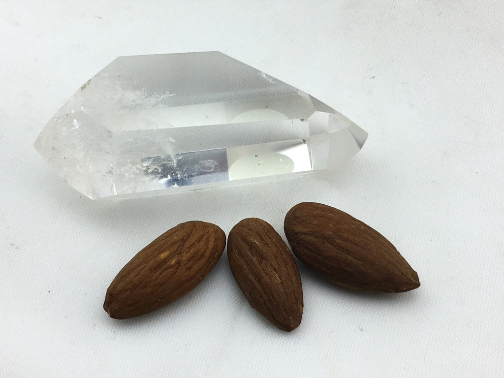 Quartz:  Clear Double Terminated Points