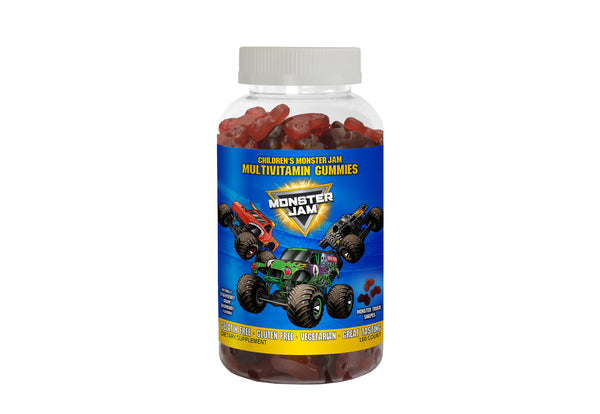 Monster Jam Multi-Vitamin Gummies - New1