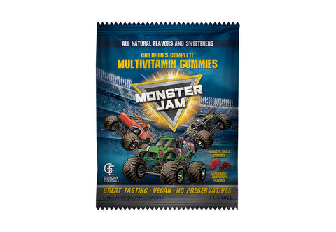 Monster Jam 2 Gummy Packet