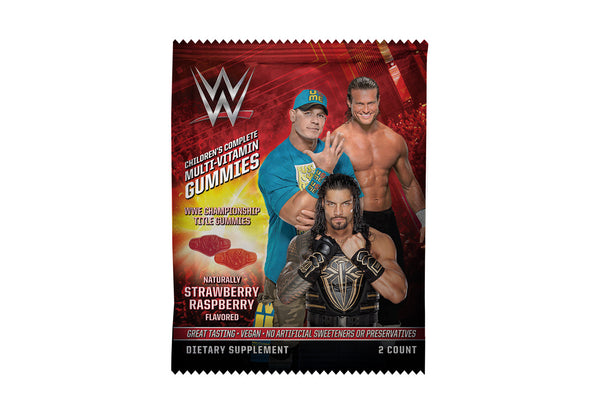 WWE 2 Gummy Packet