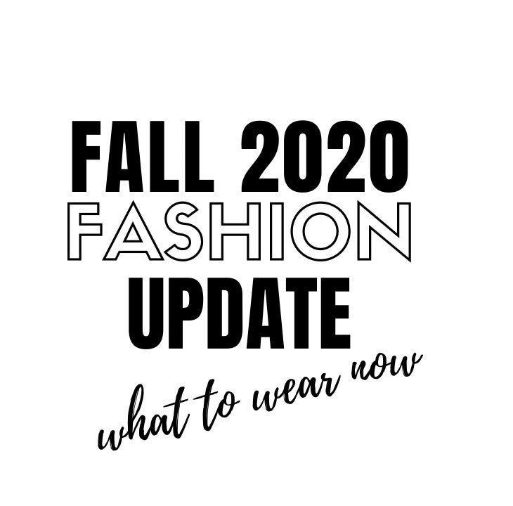 2020 Fall Fashion Trends