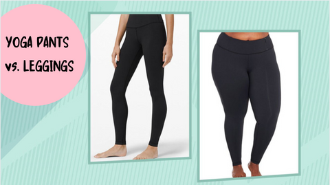 The Difference Between Leggings and Yoga Pants