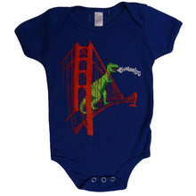 Infant Royal Blue SF Dinosaur Bodysuit Onesie