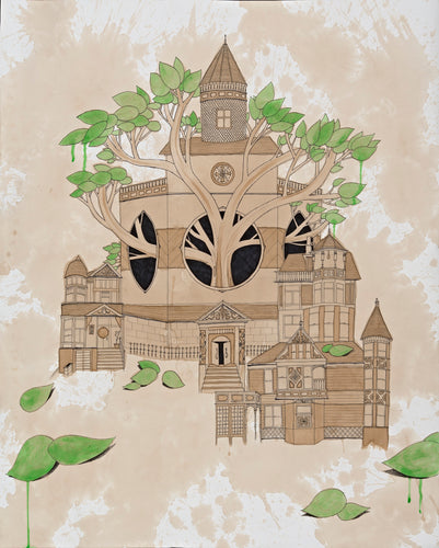 Limited Edition Church Of Tree Signed Print