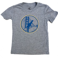 Kids Heather Grey Warriors Tee