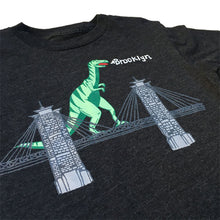 Kids' Dinosaur On Brooklyn Bridge Tee