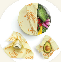 Honeycomb Assorted 3 Pack Rugged, reusable wraps in three sizes
