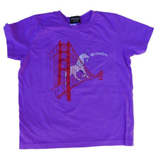 Kids' Purple Unicorn Tee