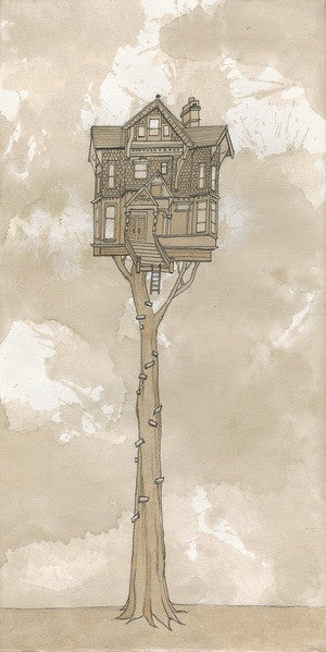 Limited Edition Tree House Signed Print