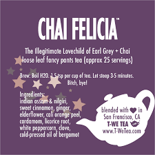 Chai Felicia - Black Tea