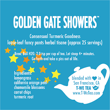 Golden Gate Showers- Herbal Tisane