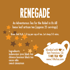 Renegade - Black Tea