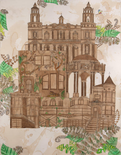 Limited Edition Jungle Victorian Print