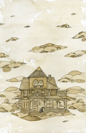 Limited Edition Living in the Clouds Signed Print