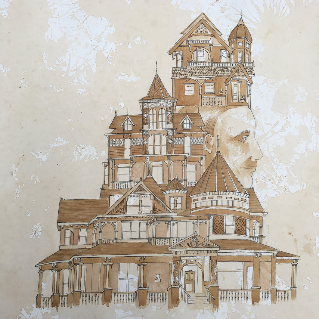 Limited Edition Victorian Palace Signed Print