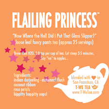 Flailing Princess - Black Tea