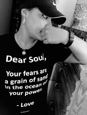 Unisex T-Shirt - DEAR SOUL (BLACK)