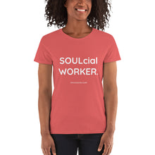 SOULcial WORKER - Gildan 5000L Ladies Heavy Cotton Short Sleeve T-Shirt
