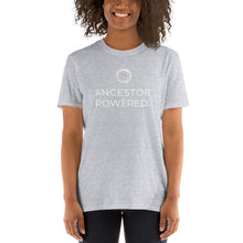 Gildan 64000 Unisex Softstyle T-Shirt - ANCESTOR POWERED (white print)