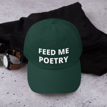 Yupoong 6245CM - Unstructured Classic Dad Cap - FEED ME POETRY