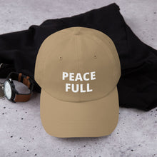 Yupoong 6245CM - Unstructured Classic Dad Cap - PEACE FULL