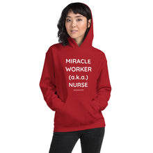 MIRACLE WORKER-NURSE. Gildan 18500 Unisex Heavy Blend Hooded Sweatshirt