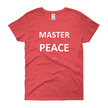 Women's short sleeve t-shirt - MASTER PEACE (COLOR CHOICES)