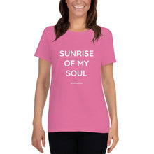 SUNRISE OF MY SOUL - Gildan 5000L Ladies Heavy Cotton Short Sleeve T-Shirt