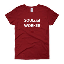 SOULcial WORKER - white print