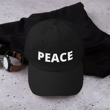 Yupoong 6245CM - Unstructured Classic Dad Cap - PEACE