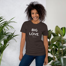BIG LOVE. Unisex Premium T-Shirt | Bella + Canvas 3001