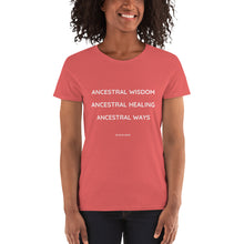 ANCESTRAL WISDOM - Gildan 5000L Ladies Heavy Cotton Short Sleeve T-Shirt