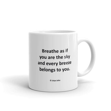 Mug - BREATHE AS IF