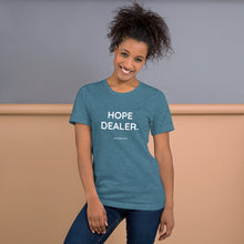 HOPE DEALER. Unisex Premium T-Shirt | Bella + Canvas 3001