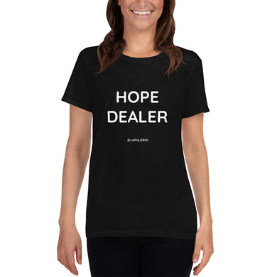 HOPE DEALER - Gildan 5000L Ladies Heavy Cotton Short Sleeve T-Shirt