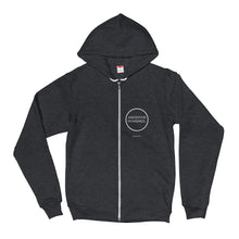 American Apparel F497 Unisex Flex Fleece Zip Hoodie - Ancestor Powered