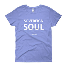 Sovereign Soul - white print