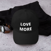Yupoong 6245CM - Unstructured Classic Dad Cap - LOVE MORE