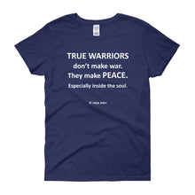 True warriors - white print