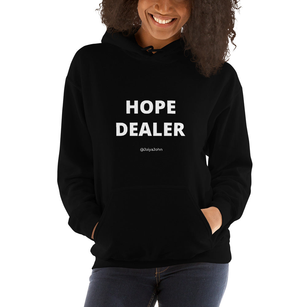 Gildan 18500 Unisex Heavy Blend Hooded Sweatshirt - Hope Dealer (white print)