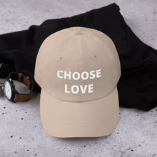 Yupoong 6245CM - Unstructured Classic Dad Cap - CHOOSE LOVE