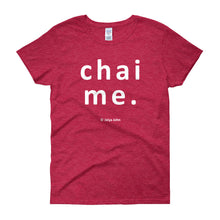 Women's short sleeve t-shirt - chai me (colors)