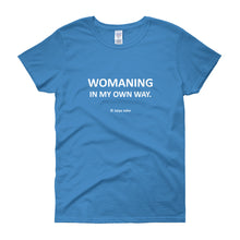 Womaning (white print)