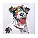 Saber the Dog Oil Painting - Artifice Store